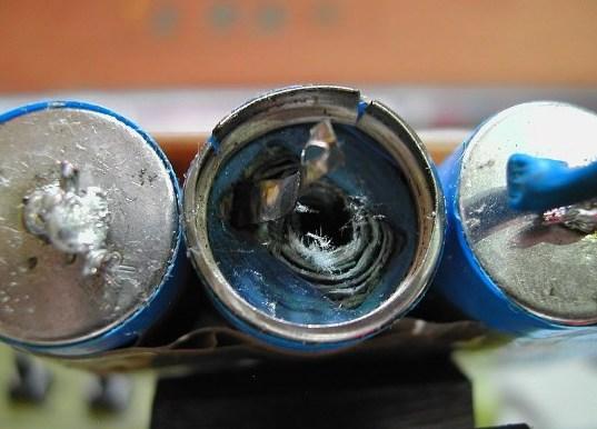 Процессы повреждения аккумулятора