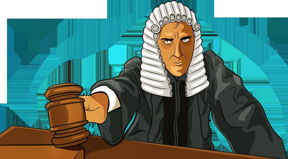 Судья в мантии