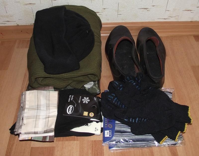 Тревожная сумка военнослужащего по контракту