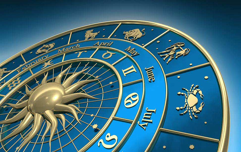 Zodiac and planet signs