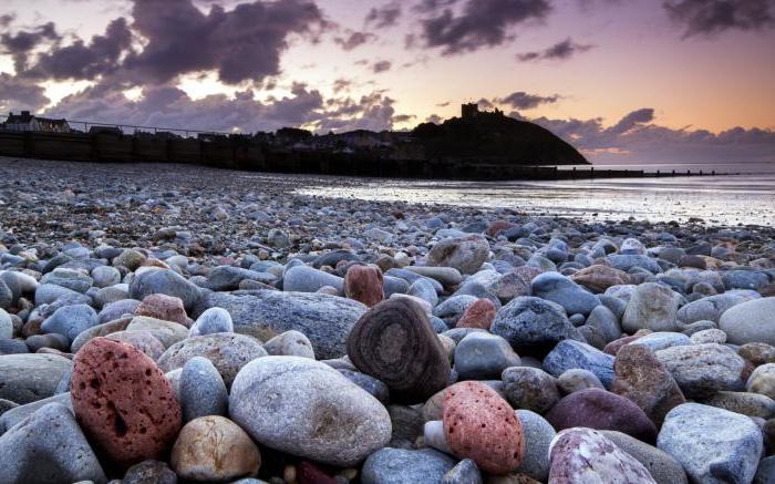 морской камень