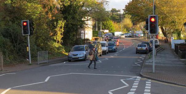 пешеходного светофора переходить дорогу