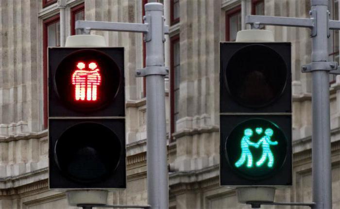 транспортный пешеходный светофор
