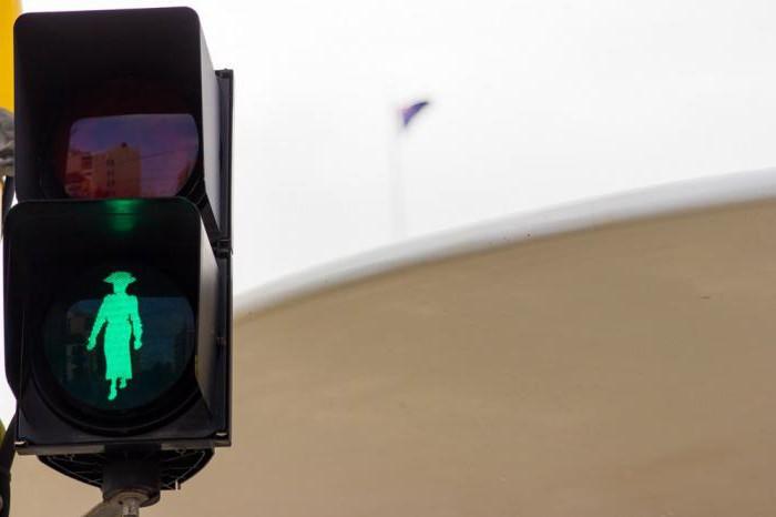 сигналы пешеходного светофора