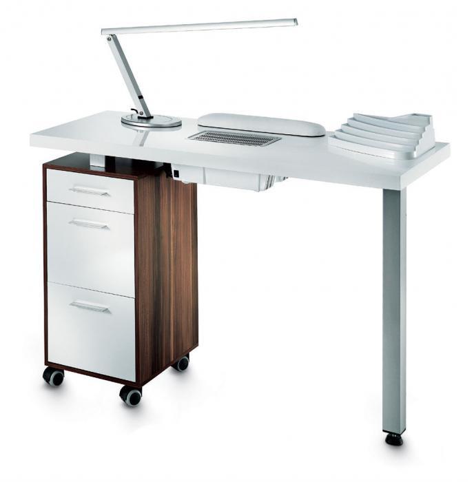 стандартные размеры маникюрного стола