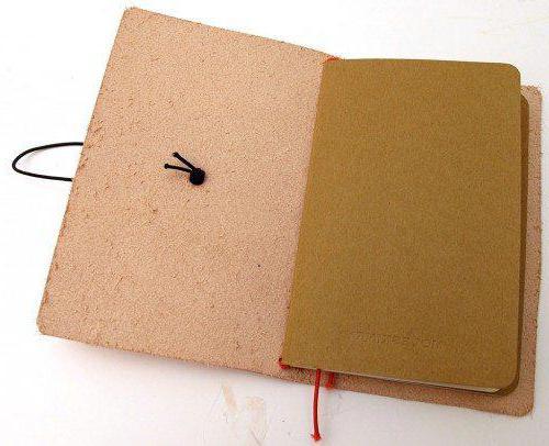 обложка на блокнот своими руками из ткани