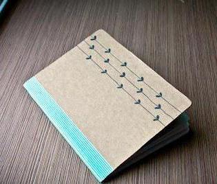 обложка для блокнота своими руками из бумаги