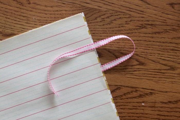 как оформить обложку блокнота своими руками