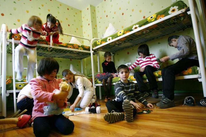 детский дом возраст детей