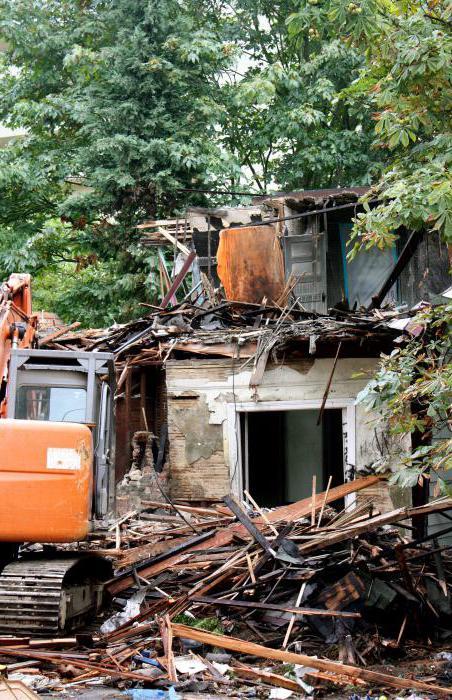 снос домов в москве