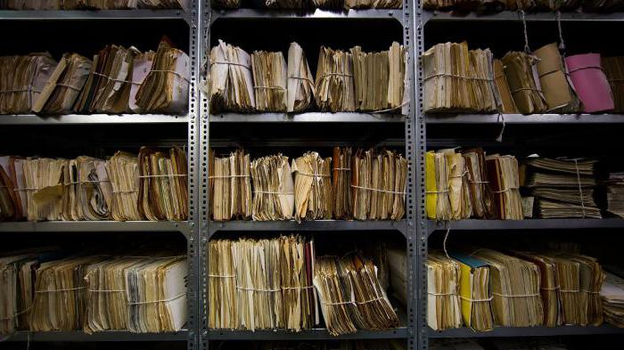 центральный архив