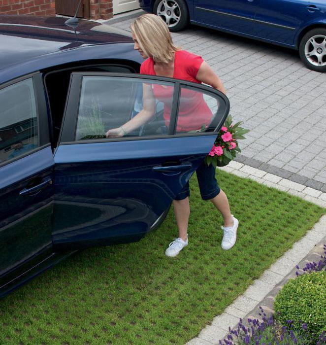 как залить площадку под машину на даче