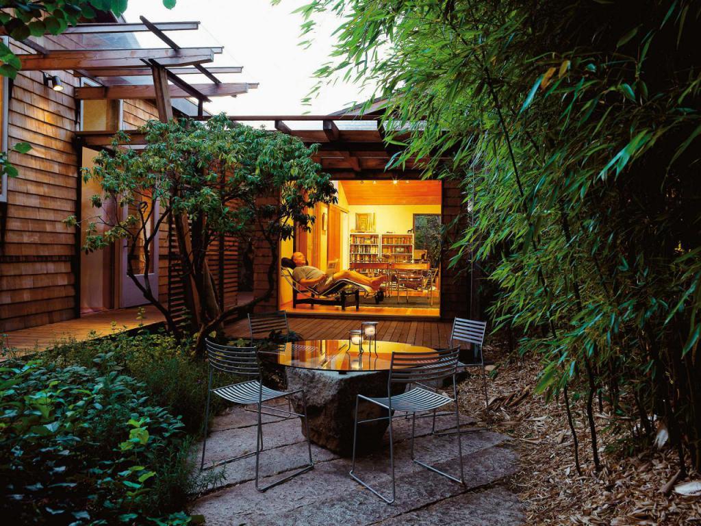 легко уютные дворики частных домов фото съемке