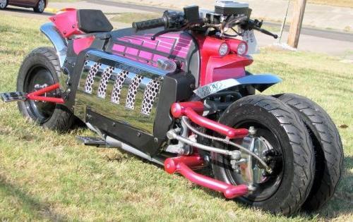 Полная длина мотоцикла додж томагавк