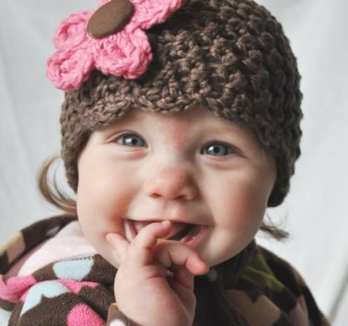 Вязание на спицах шапочки для новорожденного ребенка