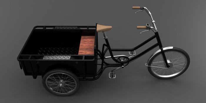 велосипед взрослый грузовой