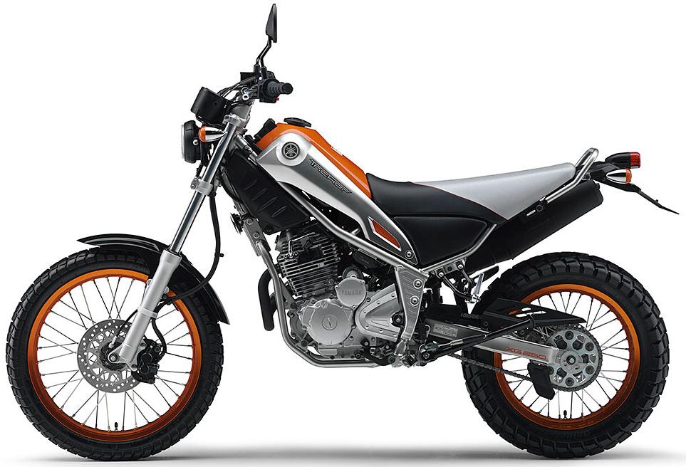yamaha xg250 tricker технические характеристики