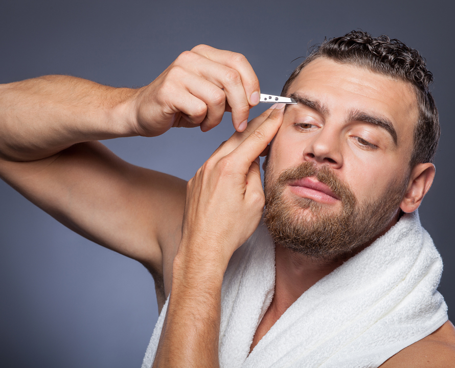 Как подстричь брови мужчине быстро и качественно в домашних условиях