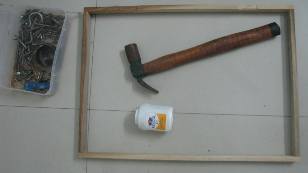 основа для создания самой простой деревянной подставки