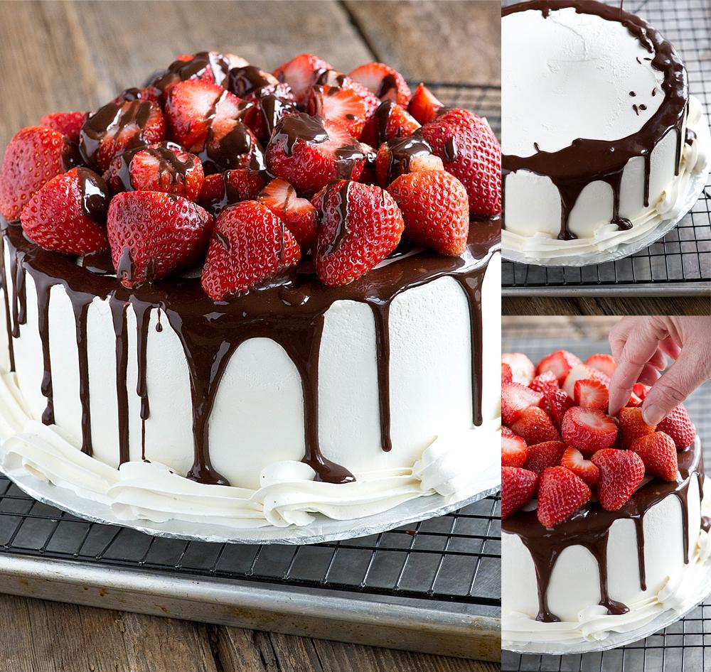 комбинация шоколада и фруктов