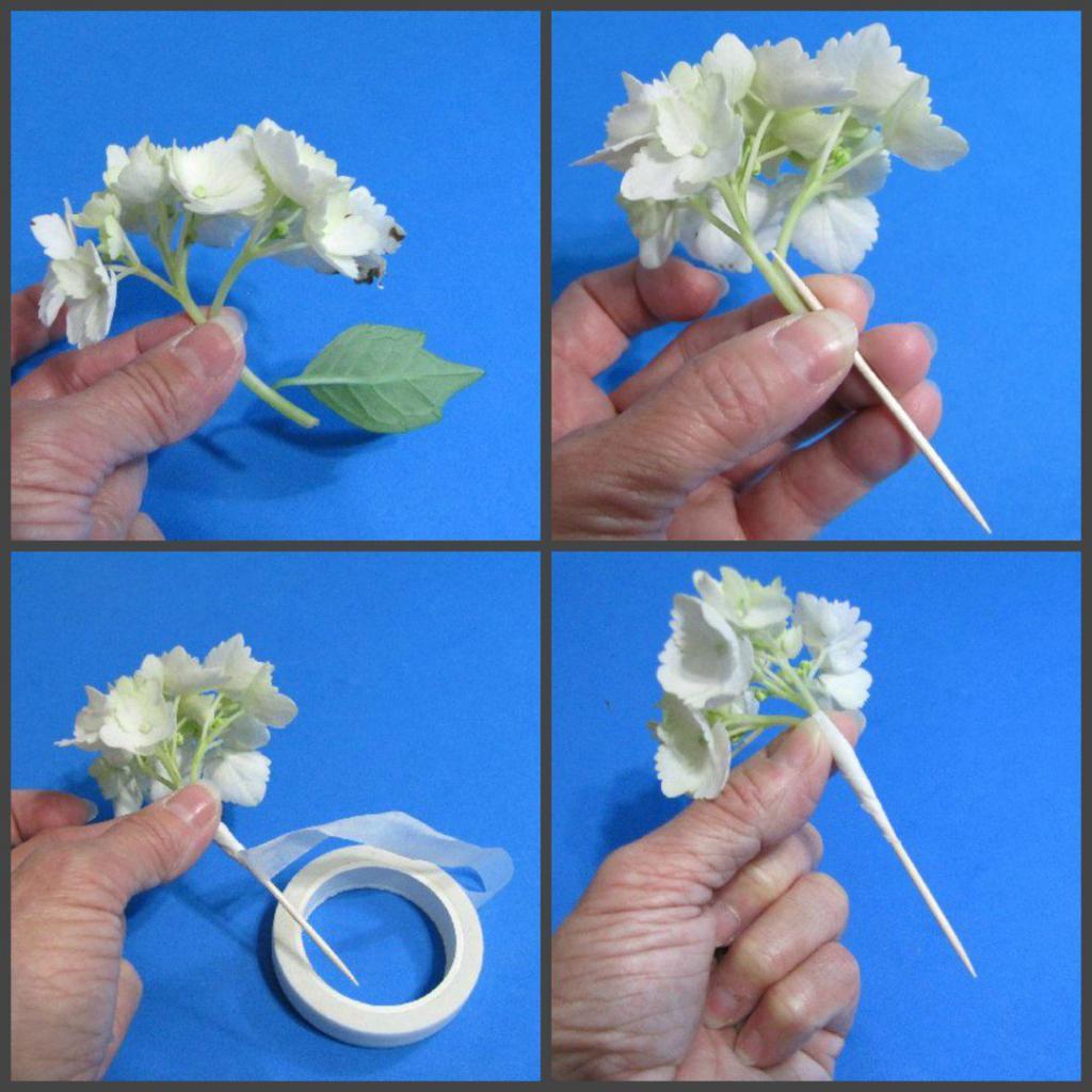 принцип подготовки цветов