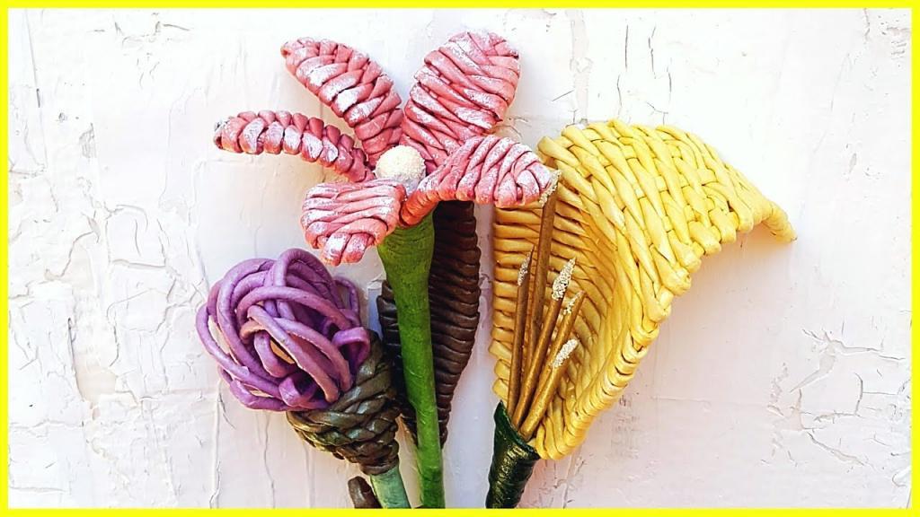 внедорожную цветы из газетных трубочек картинки хочу пойти свидание