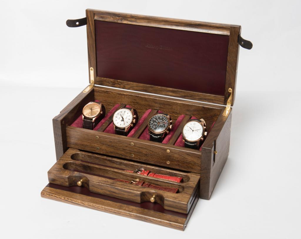 Шкатулка для часов своими руками фото 940