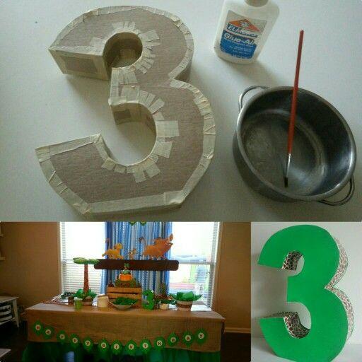 Как сделать цифру 3 на день рождения: выбор материала, шаблоны и инструкция выполнения