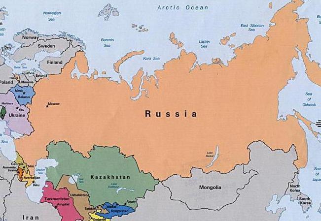 соседние страны России список