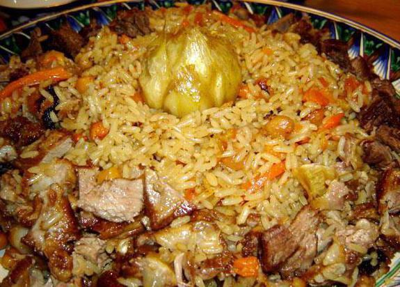 приготовление узбекских блюд