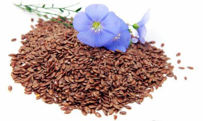 семена льна с кефиром