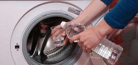 Как почистить стиральную машину уксусом? Алтернативные способы чистки