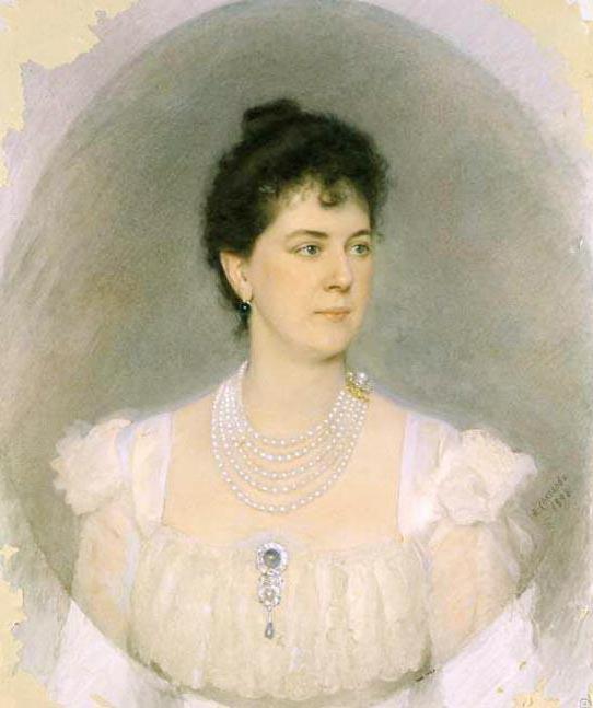 Тенишева Мария Клавдиевна Портрет