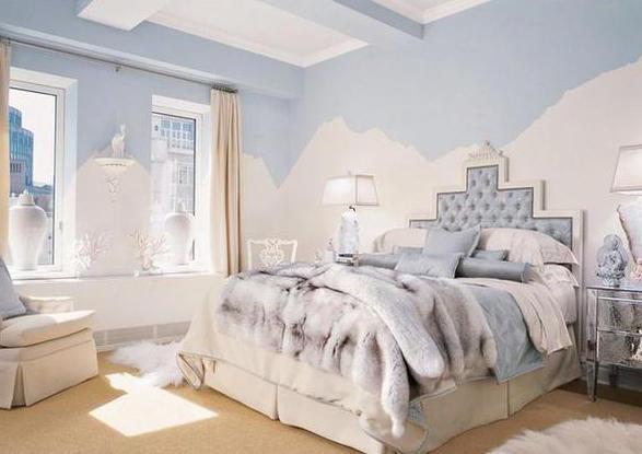 обзор вариантов дизайна спален в светлых тонах