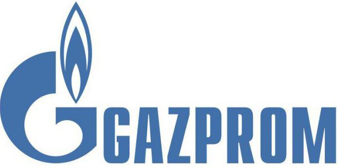 Газпром структура