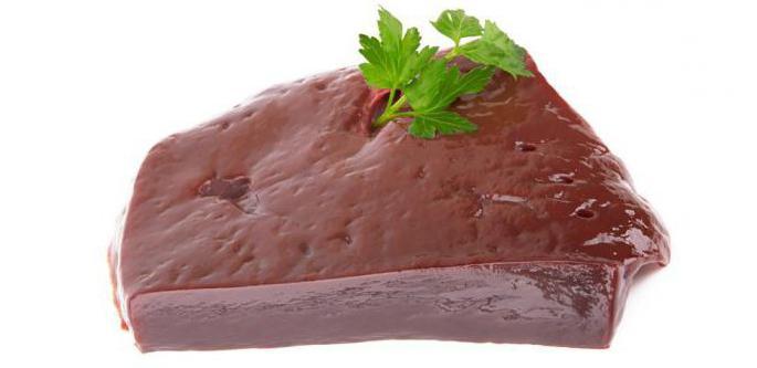 рецепт приготовления печени говяжьей кусками
