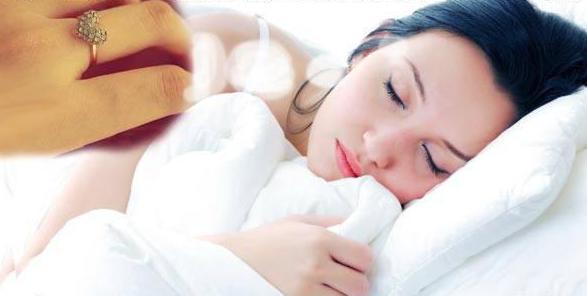 Что означает видеть во сне как дарят кольцо thumbnail