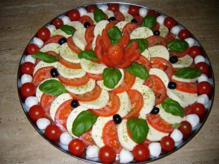 Украшение салатов просто и красиво