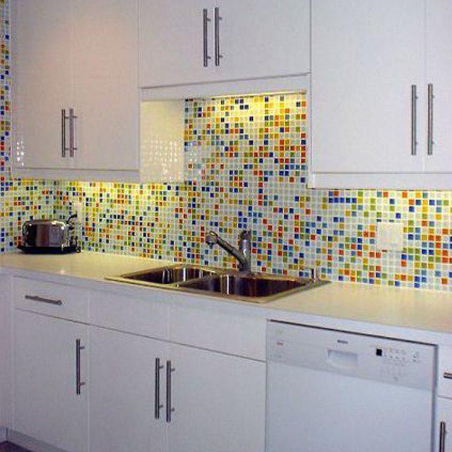 Кухня фартук под мозаику
