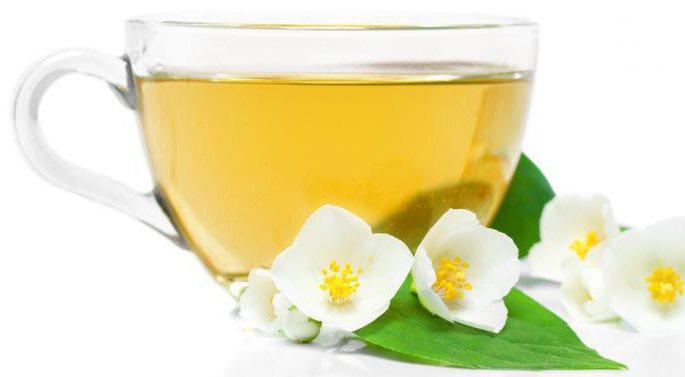 Чай из цветков фиалки