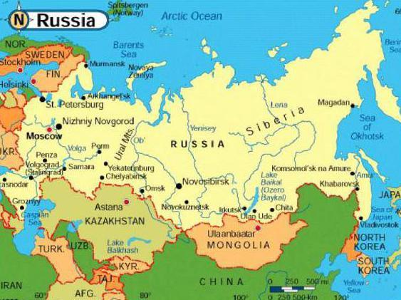 карта доставки почтой России