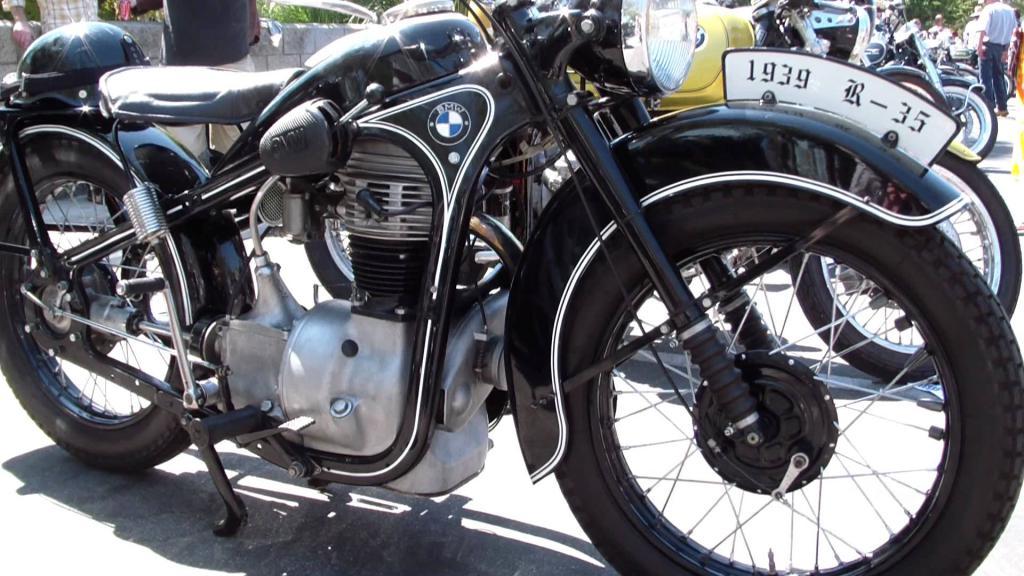Мотоцикл BMW r35