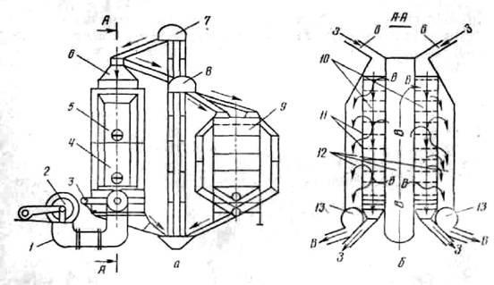 схема электродного котла