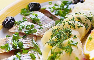 рецепт быстрого приготовления селедки в домашних условиях