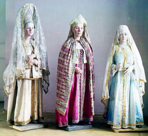 Русские народные платья