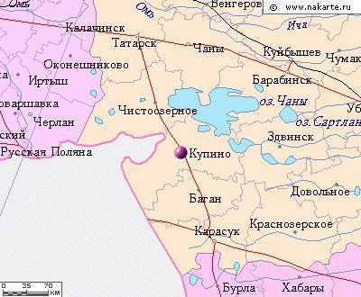 Барабинск где находится