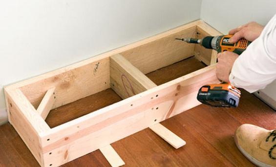 Как сделать деревянный стеллаж своими руками видео
