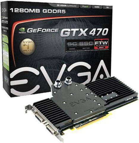 Nvidia GeForce GTX 470: характеристики, обзор