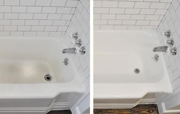 чем почистить акриловую ванну от налета в домашних условиях
