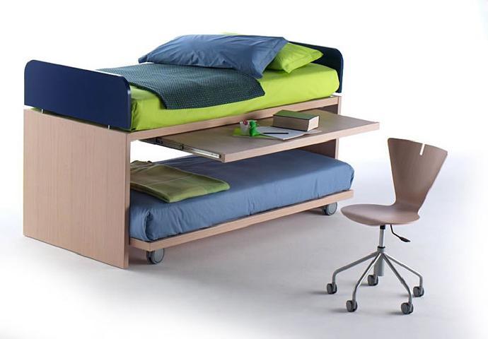 удобная двухъярусная мебель